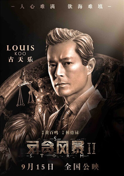 S Storm Movie Poster, 2016 Chinese film