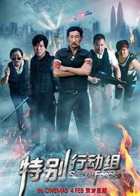 Special Forces Movie Poster, 2016 Chinese film