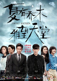 Sweet Sixteen Movie Poster, 2016 Chinese film