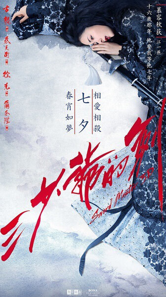 Sword Master Movie Poster, 2016 Chinese film