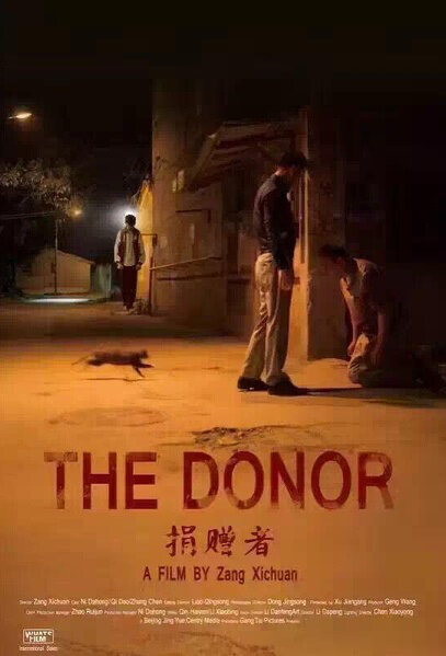 The Donor Movie Poster, 2016 Chinese movie