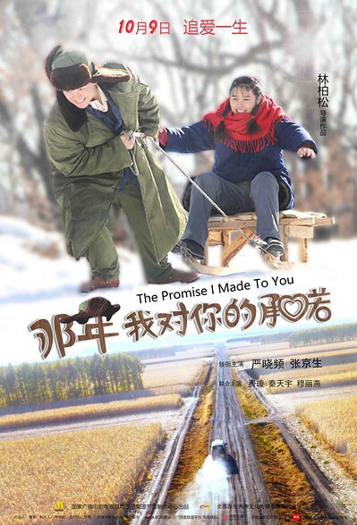 The Promise I Made to You Movie Poster, 2016 Chinese film