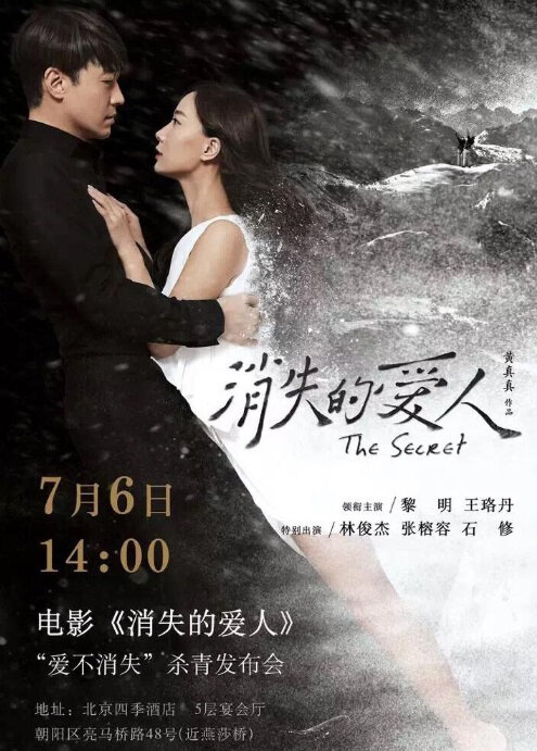 The Secret Movie Poster, 2016 Chinese film