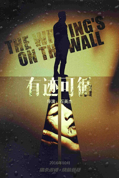 The Writing's on the Wall Movie Poster, 2016 Chinese film