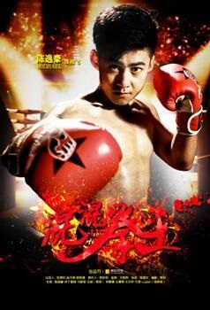 Boxing Champion Movie Poster, 2017 Chinese film