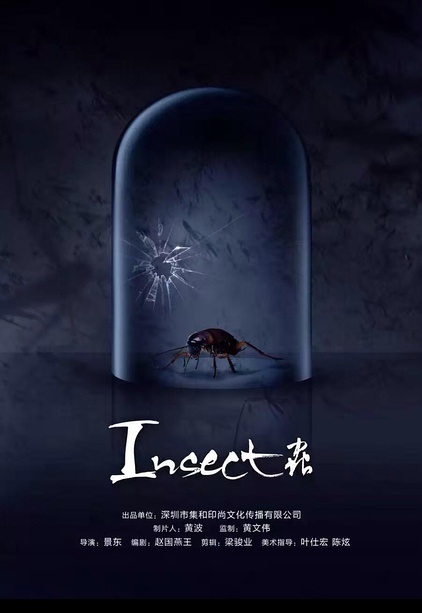 Insect Movie Poster, 2017 Chinese film