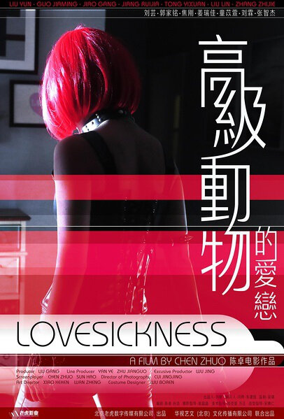 Lovesickness Movie Poster, 2017 Chinese film