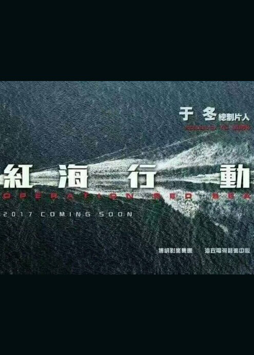 Operation Red Sea Movie Poster, 2017 Chinese film
