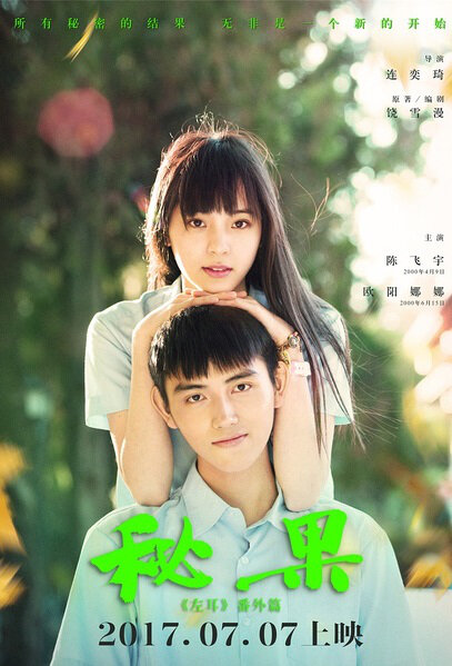 Secret Fruit Movie Poster, 2017 Chinese High School Movie