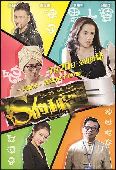 The Secret of S Movie Poster, 2017 Chinese film