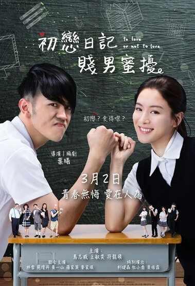 To Love or Not to Love Movie Poster, 2017 Chinese film