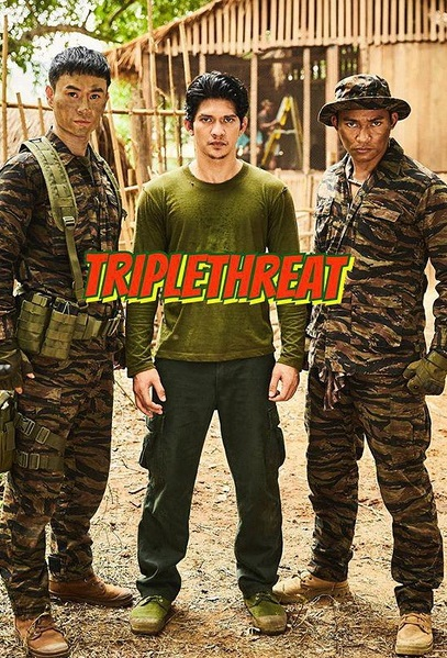 Triple Threat Movie Poster, 2017 Chinese film