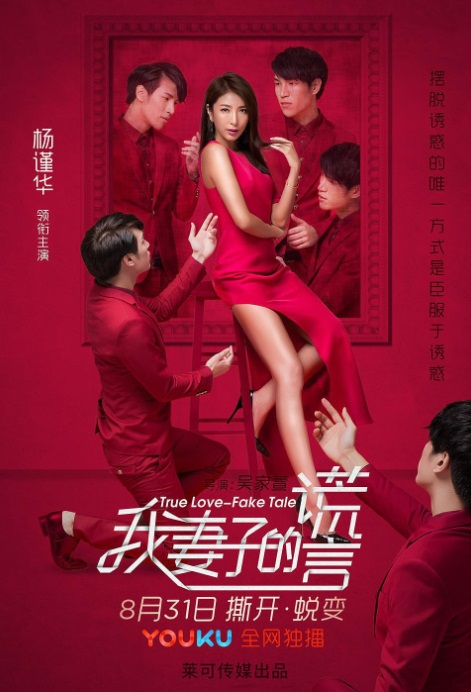 True Love - Fake Tale Movie Poster, 2017 Chinese film
