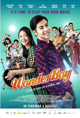 Wonder Boy Movie Poster, 音为爱 2017 Singapore film