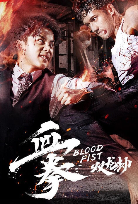 Blood Fist Movie Poster, 血拳之双龙劫 2018 Chinese film