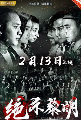 Fight the Dawn Movie Poster,  绝杀黎明 2018 Chinese film