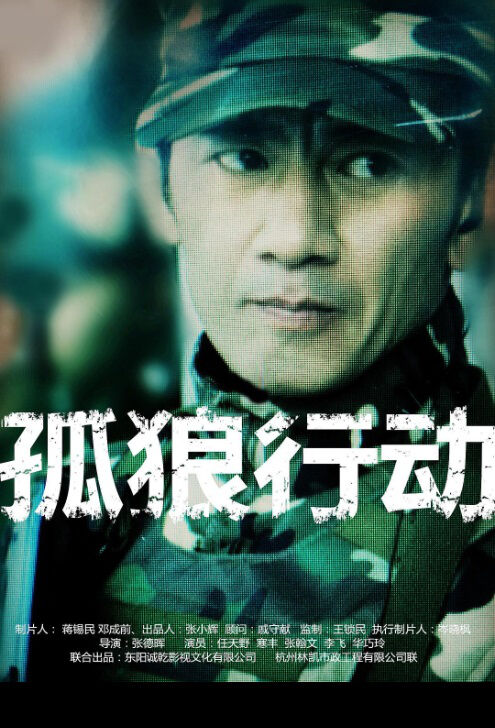 Lone Wolf Action Movie Poster,  孤狼行动 2018 Chinese film