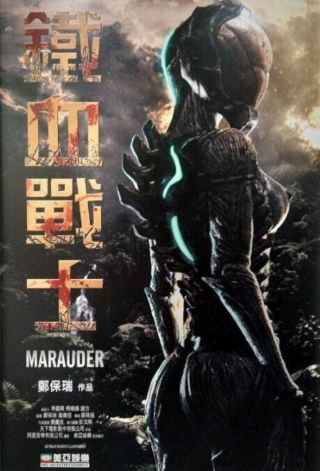 Marauder Movie Poster, 2018 Chinese film
