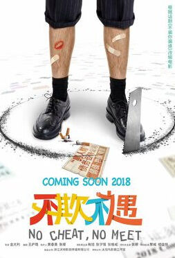 No Cheat, No Meet Movie Poster, 不欺不遇 2018 Chinese film