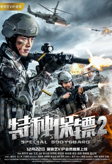 Special Bodyguard 2 Movie Poster, 特种保镖2 2018 Chinese film