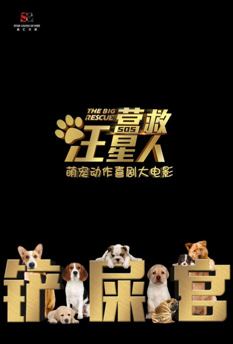 The Big Rescue Movie Poster, 2018 Chinese film