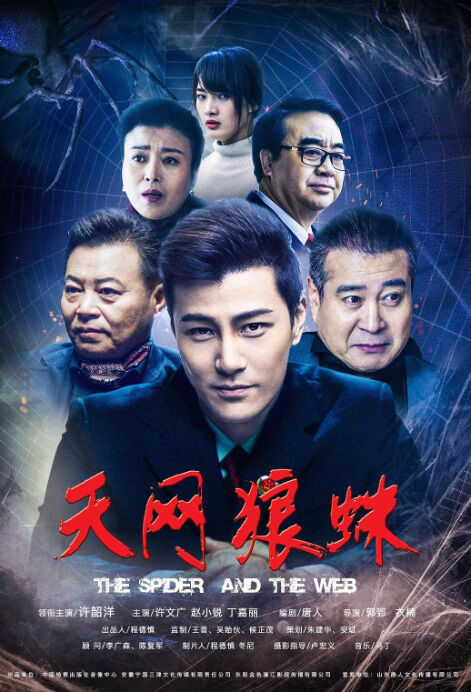 The Spider and the Web Movie Poster, 天网狼蛛 2018 Chinese film
