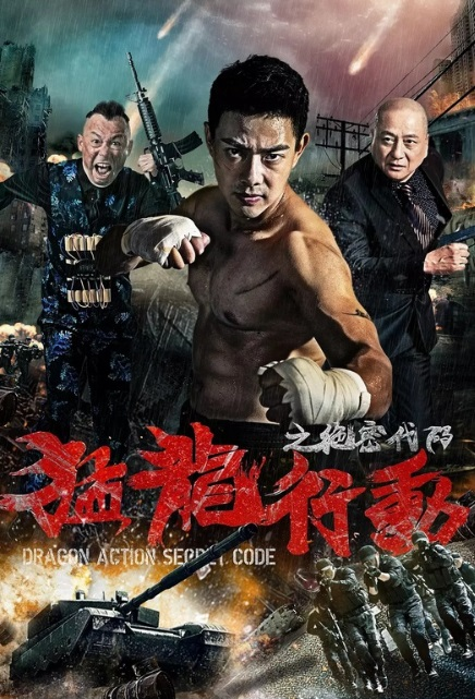 Dragon Action Secret Code Movie Poster, 猛龙行动之绝密代码 2019 Chinese film
