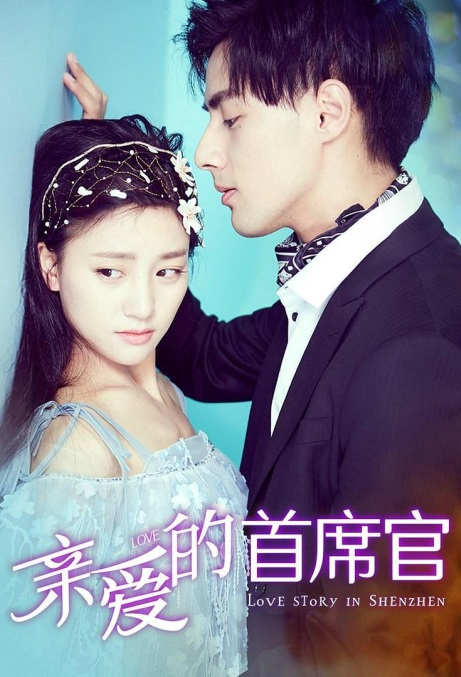 Love Story in Shenzhen Movie Poster, 亲爱的首席官 2019 Chinese film