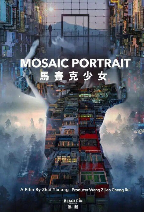 Mosaic Portrait Movie Poster, 马赛克少女 2019 Chinese film