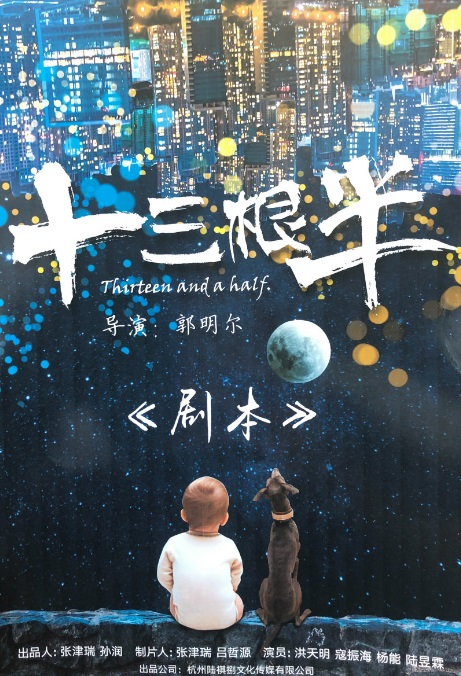 Thirteen and a Half Movie Poster, 我爱喵星人 2019 Chinese film