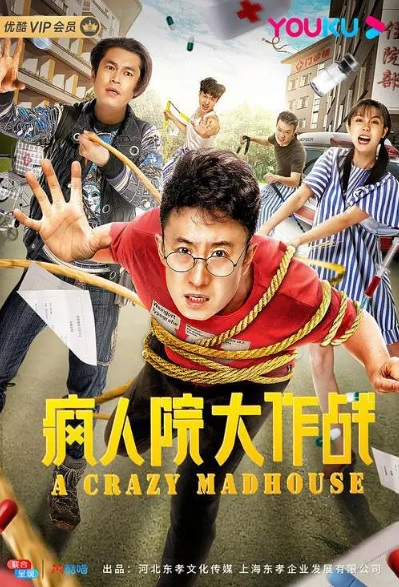 A Crazy Madhouse Movie Poster, 疯人院大作战 2020 Chinese film
