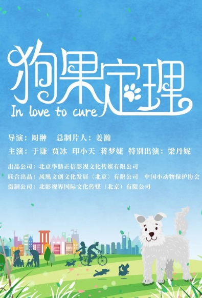 In Love to Cure Movie Poster, 狗果定理 2020 Chinese film