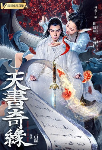 Legend of the Book Movie Poster, 天书奇缘 2020 Chinese film