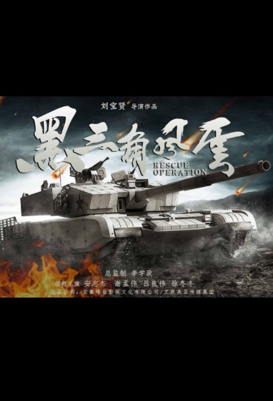 Rescue Operation Movie Poster, 黑三角风云 2020 Chinese film