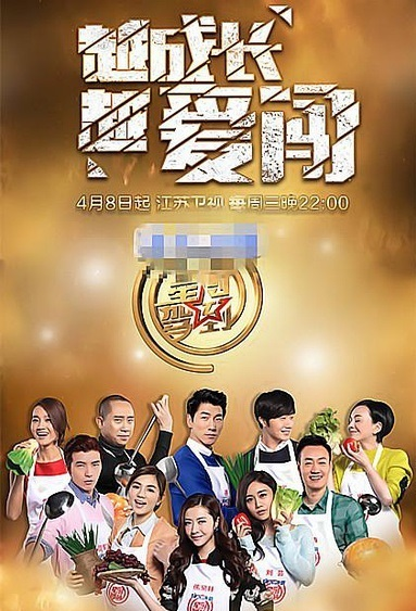 Star Chef 2015 Poster, 2015 Chinese TV show