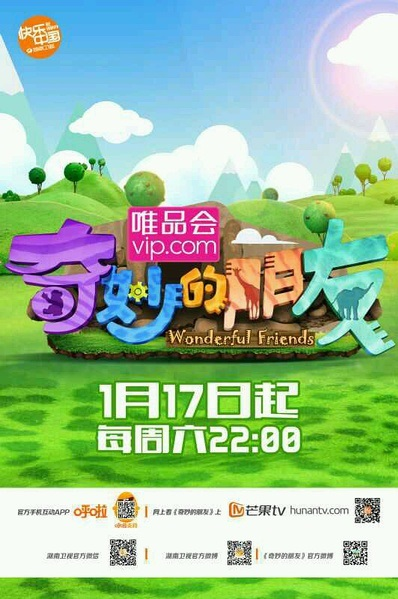 Wonderful Friends Poster, 2015 Chinese TV show