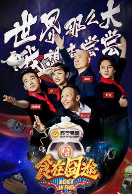 Lost in Food Poster, 2016 Chinese TV show