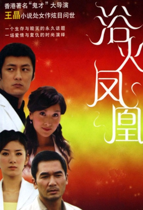 Phoenix from the Ashes Poster, 2006 Hong Kong TV Drama Series