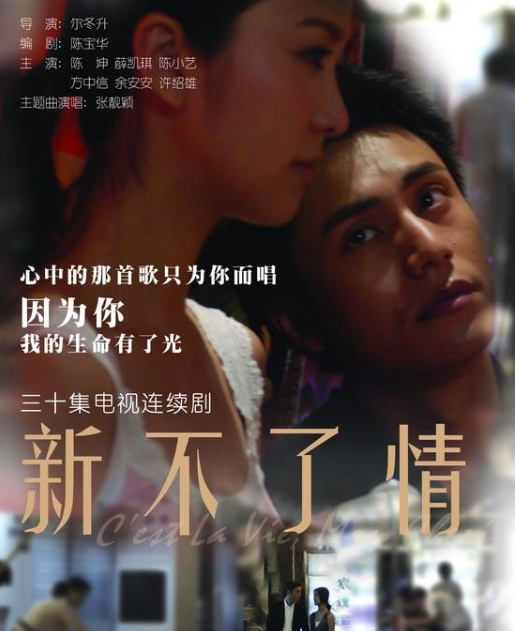 Endless Love Poster, 2008, Chen Kun, Actress: Fiona Sit Hoi-Kei, Hong Kong Film