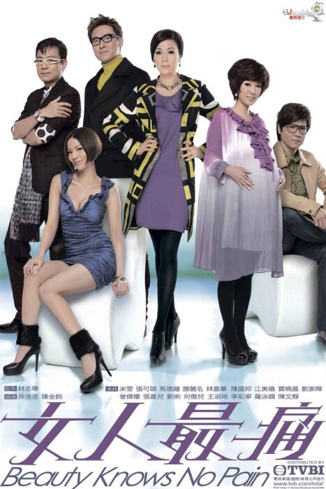 Beauty Knows No Pain Poster, 2010 Hong Kong Drama Series