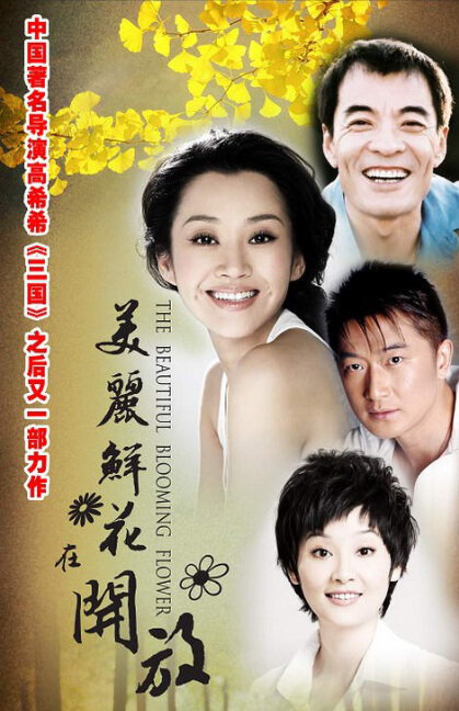The Beautiful Blooming Flower Poster, 2010 China TV drama Series