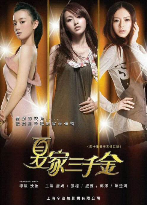 Xia Family Three Daughters Poster, 2010 China TV drama Series