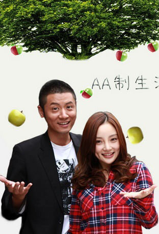 AA System Life Poster, 2012 Chinese TV drama series