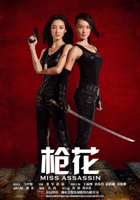 Miss Assassin Poster, 2013 Chinese TV drama series