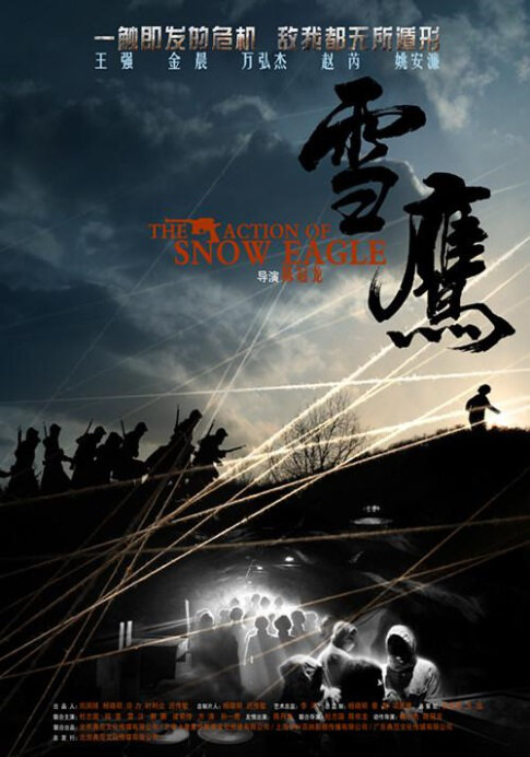 The Action of Snow Eagle Poster, 2013