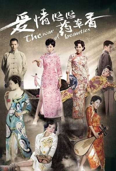 The War of Beauties Poster, 2013 Chinese TV drama series