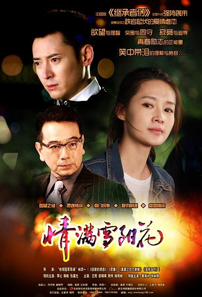 Love Snow Sunflower Poster, 情满雪阳花 2014 Chinese TV drama series
