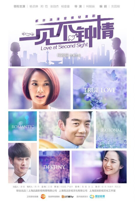 Love at Second Sight Poster, 2014 China TV drama series
