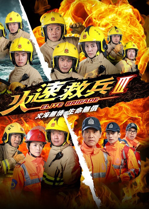Elite Brigade III Poster, 2015 Hong Kong TV Drama Series