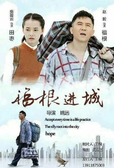 Fugen Enters the City Poster, 2015 Chinese TV drama series